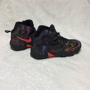 Nike LeBron James 13 youth high top shoes